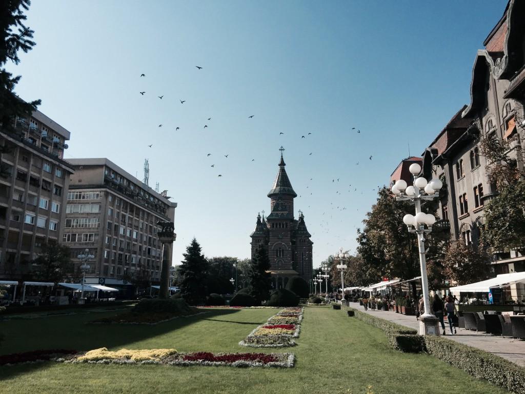 Temešvárská katedrála