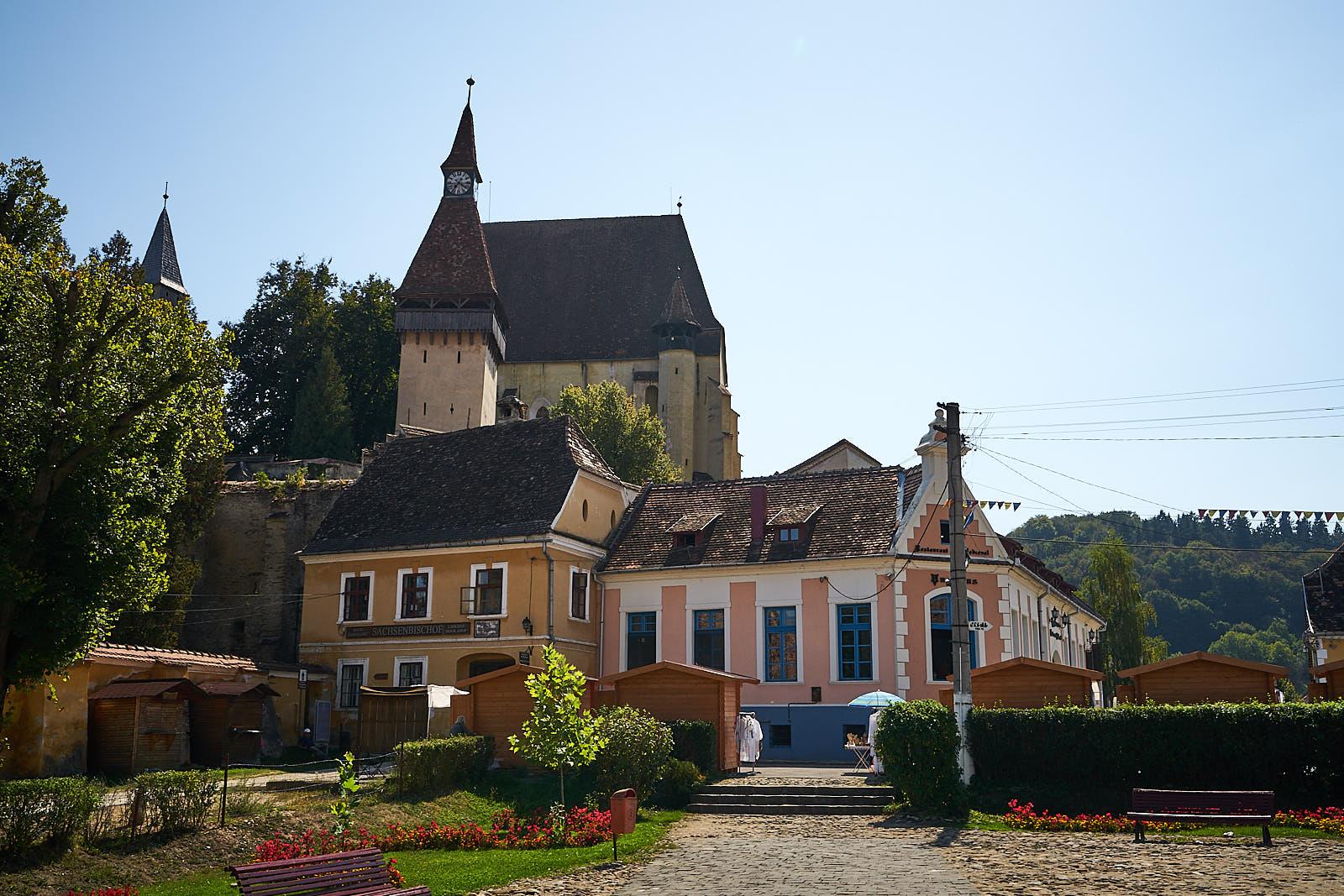 Biertan - opevněný kostel