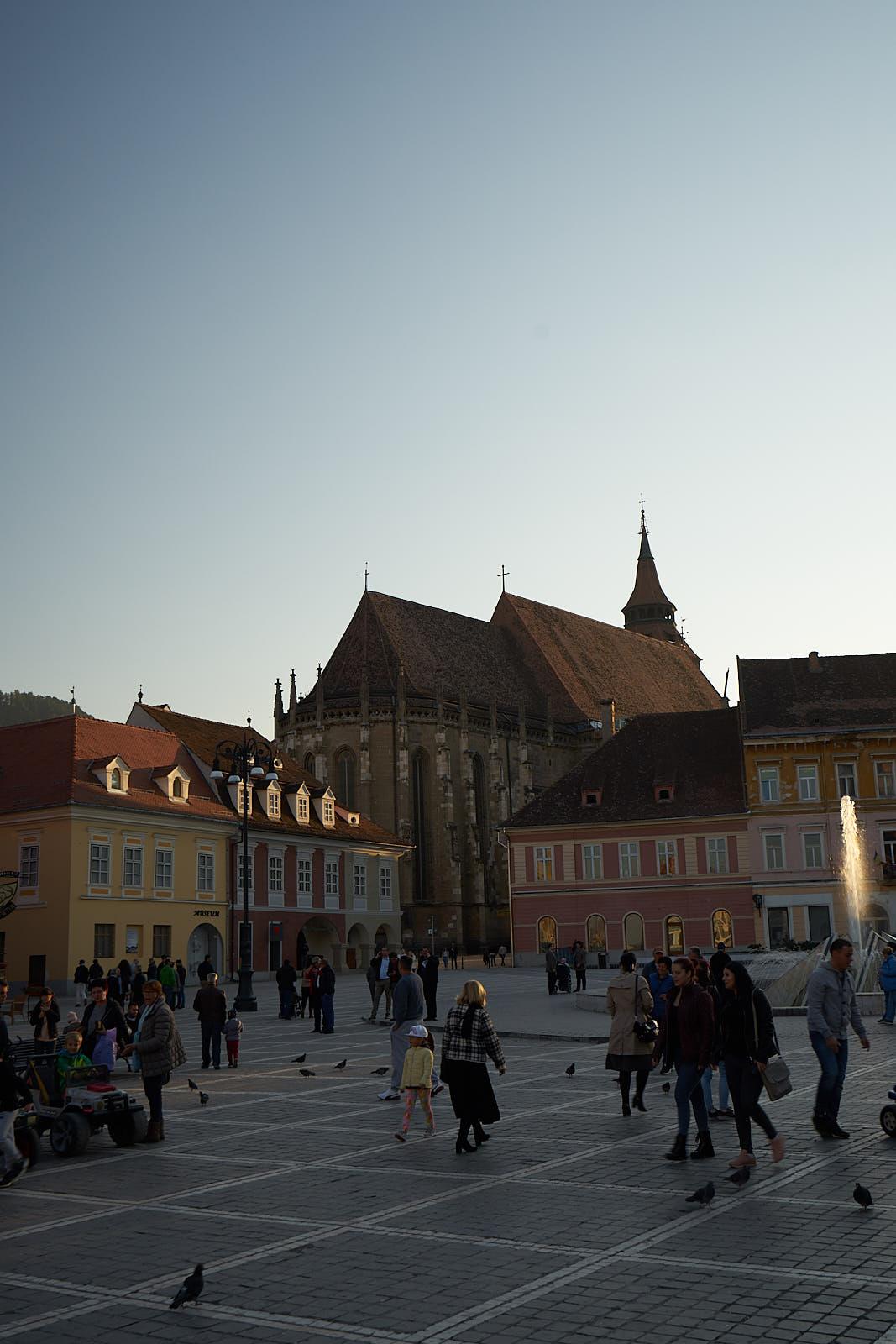 Brašov - Černý kostel