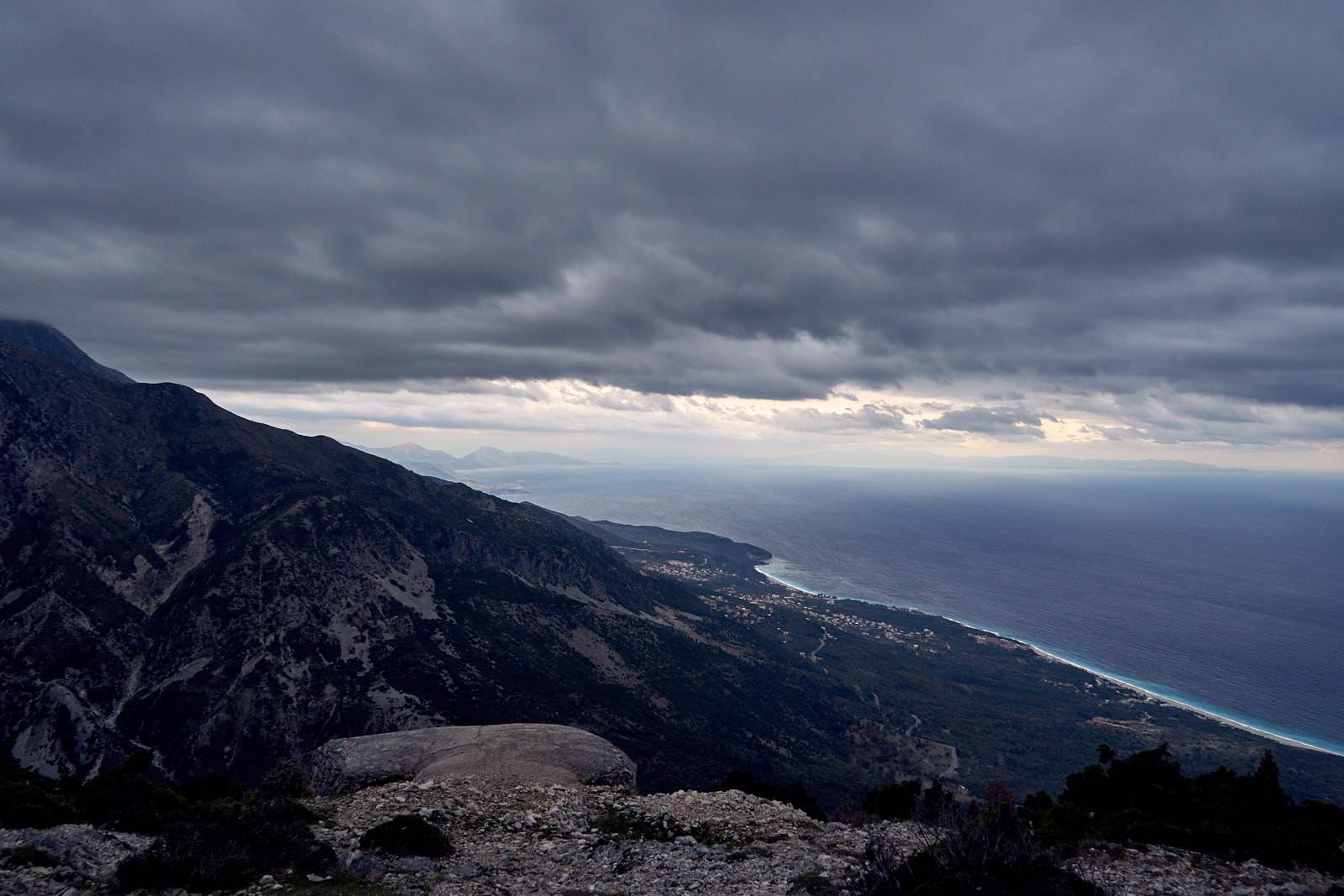 Korfu v dáli