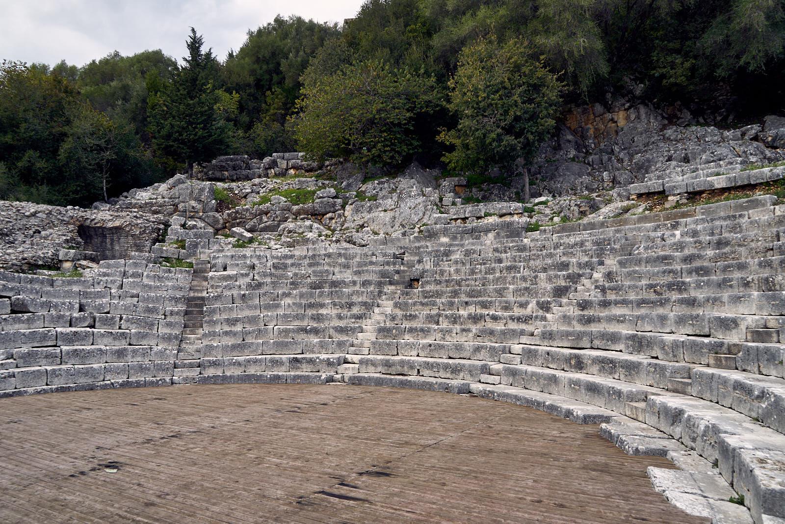 Butrint - divadlo